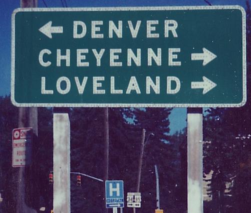 Colorado Roads - Business US 34