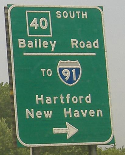 Onto I-91