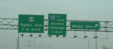 Illinois Roads - I-355