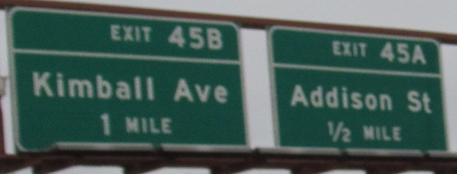 Illinois Roads - I-90/94 EB