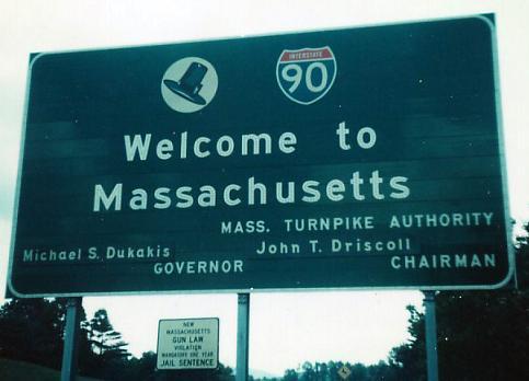 massachusetts roads i 90 west of exits 14 15