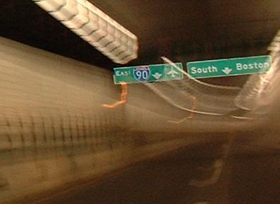 Massachusetts Roads - I-93/MA 3/US 1 - Central Artery