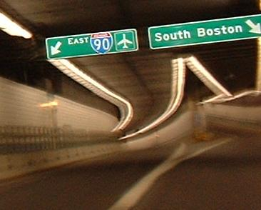 Massachusetts Roads - I-93/MA 3/US 1 - Central Artery