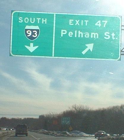 Massachusetts Roads - I-93 - Northern Expressway