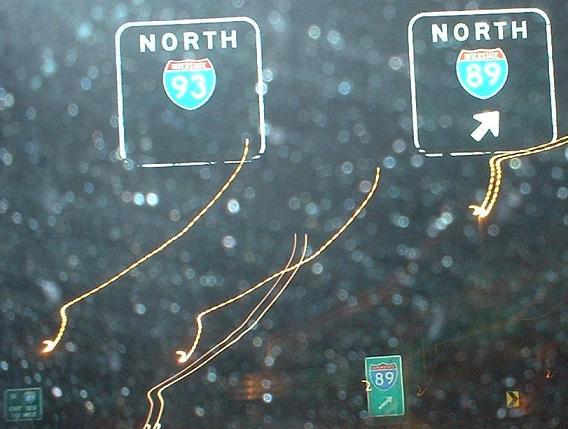 New Hampshire Roads - I-93