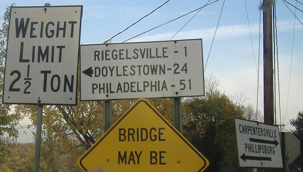 Njpa Roads Warren Cr 627riegelsville Bridge