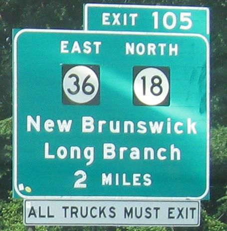 Exit 105 Garden State Parkway Garden Ftempo