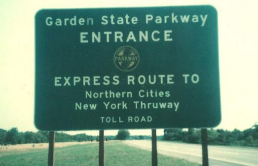 New Jersey Roads - Garden State Parkway - NB, Raritan and S.