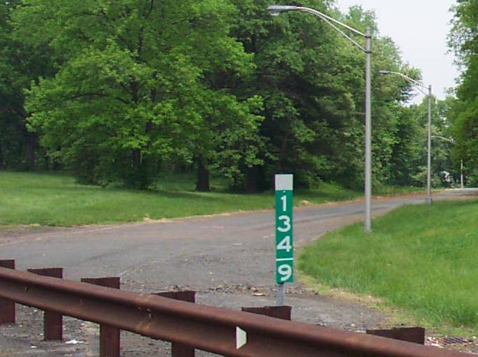 New Jersey Roads - Garden State Parkway - NB, N. of Raritan