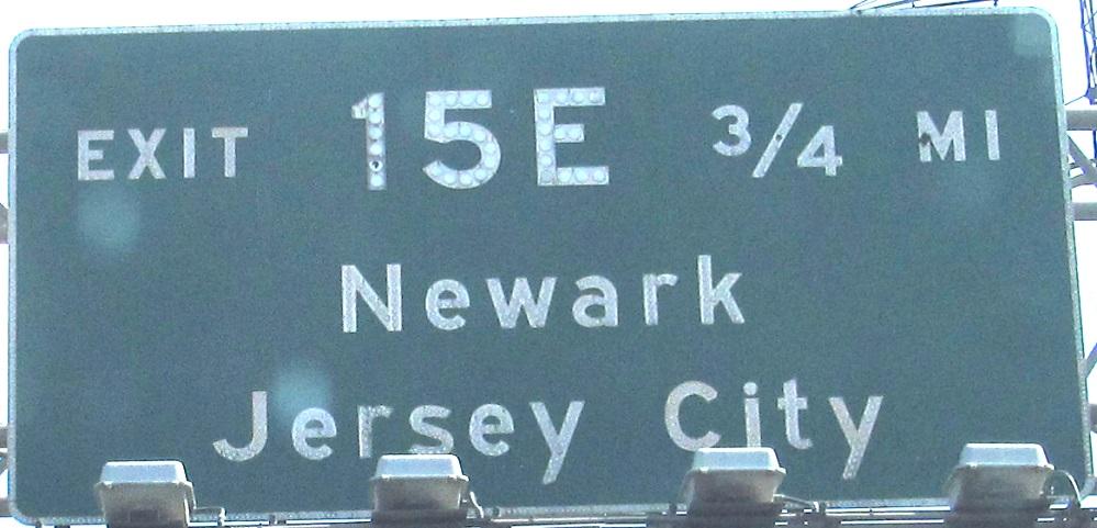 New Jersey Roads - I-95/NJ Turnpike W  Spur