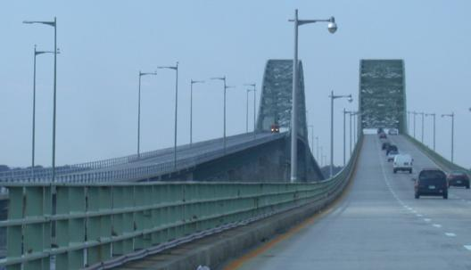 Looking North From Robert Moses State Park At The Two Lane Single Span Connecting And Captree Parks Courtesy Scott Colbert
