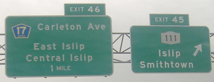New York Roads - NY 27 - Suffolk Co