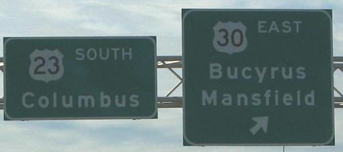 Ohio Roads - US 30 W  of Mansfield