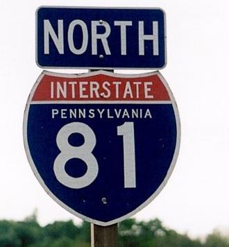 Pennsylvania Roads - I-81 NB