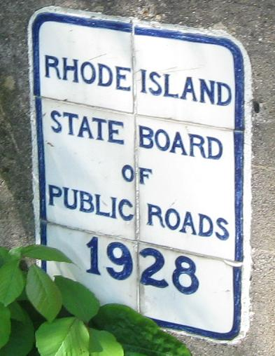 19th-century turnpikes in Rhode Island