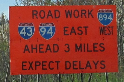 Wisconsin Roads - I-94/I-43/US 41